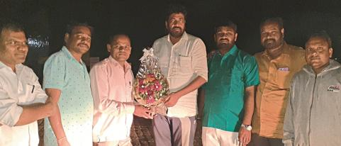 Prahad MLA Bacchu Kadu Felicitated by Party Workers