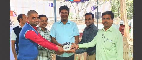 Prashant Gadakh Collected Books on Birthday for Needy