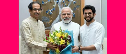 cm thackeray meets pm modi