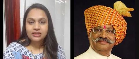 Bring Ashwini Patil from China Shriniwas Patil Writes to Foreign Minister