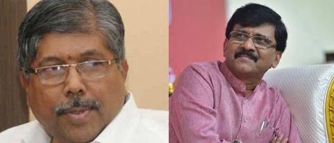 Chandrakant Patil Criticism on Sanjay Raut