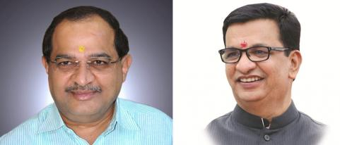 Radhakrishna Vikhe Attended Water Meeting Balasaheb Thorat Skipped