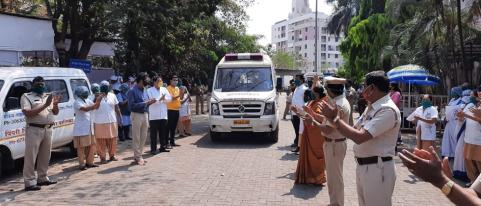 Three Corona Patients from Pimpri discharged