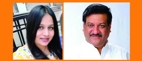 prithviraj chavan talks with ashwini through video call