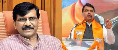 Sanjay Raut Allegation on Ex CM Devendra Fadanavis