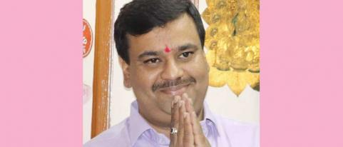 amit kadam will join ncp