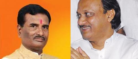 BJP Leader Pratap Patil Chikhlikar Meets Ajit Pawar