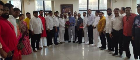 Sanjay Raut Congratulates New Corporators from Nashik