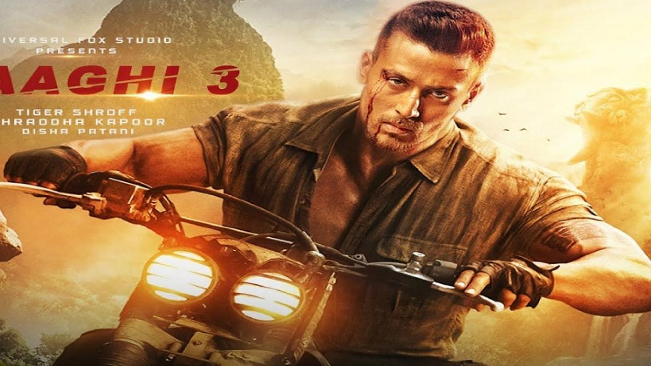 Thrill of action; Trailer releas of  'Baghi-3'