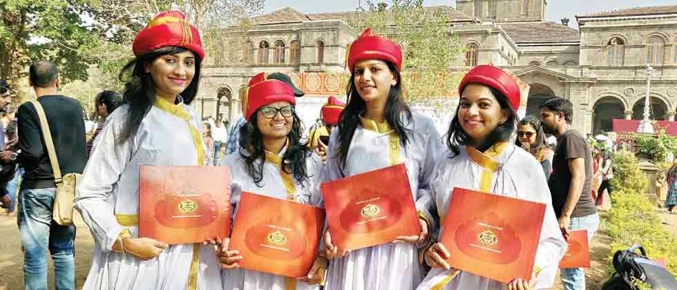 pune university convocation ceremony