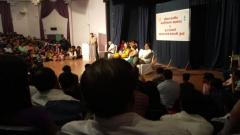 P. L. Deshpande Maharashtra Arts Academy conducts audition guidance workshop